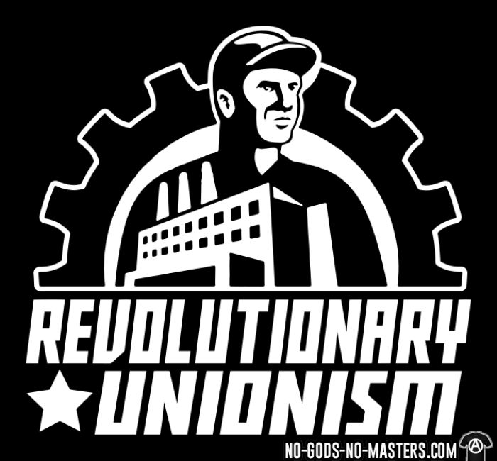 Revolutionary unionism - Working Class Hooded sweatshirt