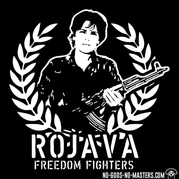 Rojava freedom fighters - Rojava T-shirt