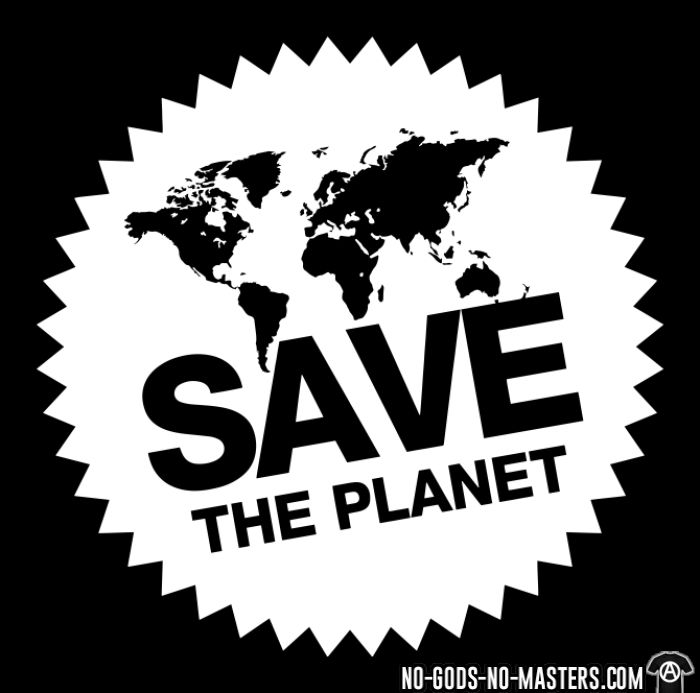 Save the planet - Eco-friendly T-shirt