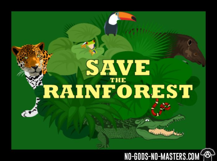 Save the rainforest - Eco-friendly Tank top