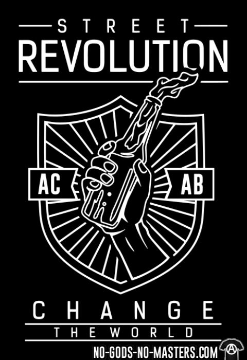 Street Revolution ACAB Change the World - Activist Women Organic