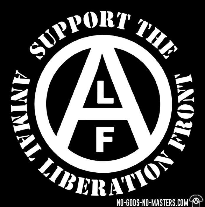 Support the Animal Liberation Front (ALF) - Animal Liberation T-shirt