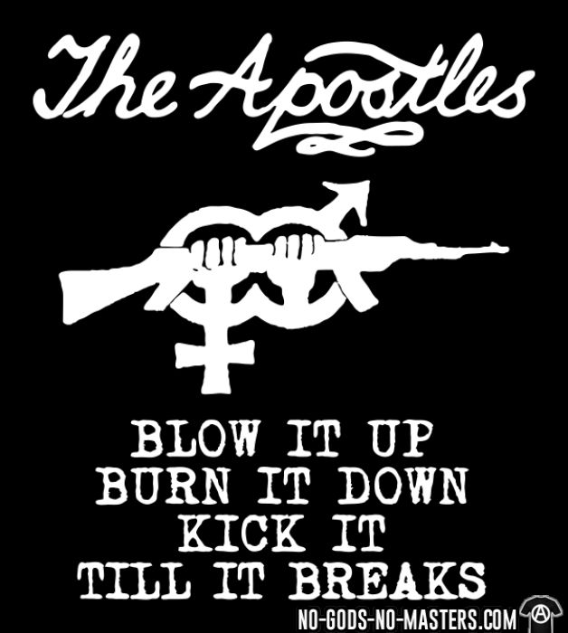 The apostles - Blow it up burn it down kick it till it breaks - Band Merch Women tank tops