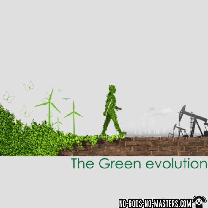 The green evolution - Eco-friendly T-shirt