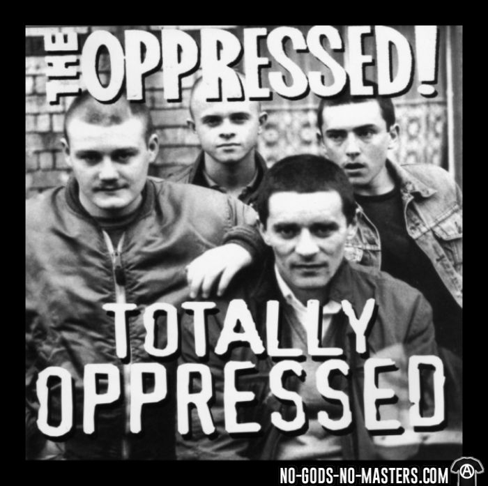 The Oppressed - totally oppressed - Band Merch T-shirt