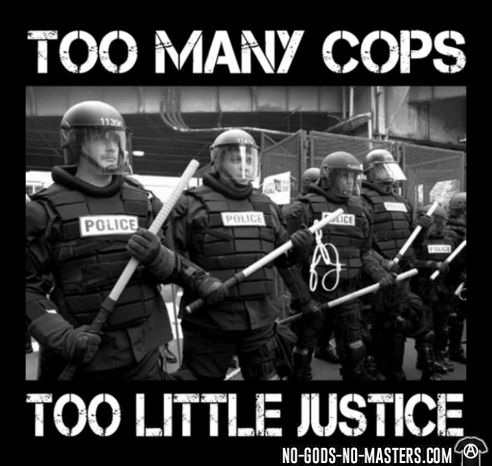 Too many cops too little justice - ACAB Tank top