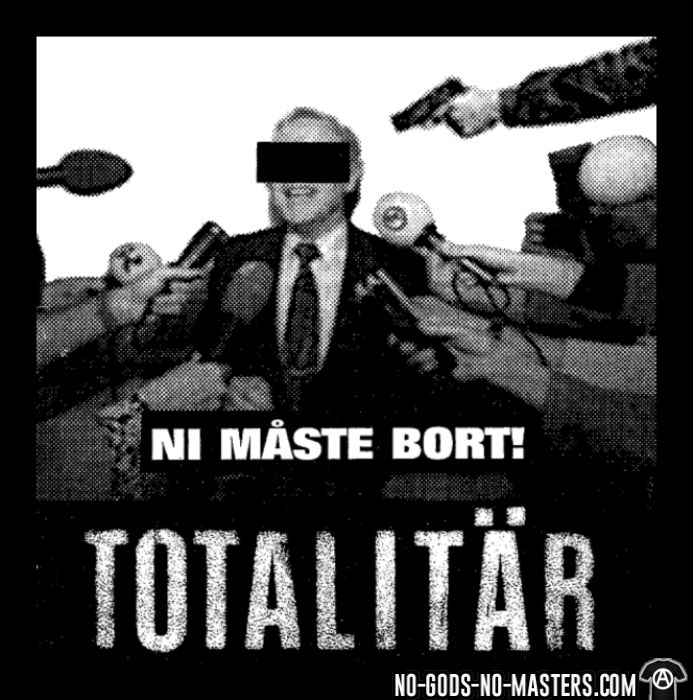 Totalitar - Ni maste bort!  - Band Merch Long sleeves