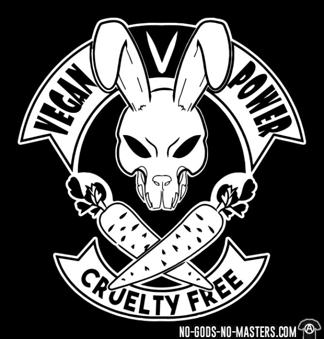 Vegan power! Cruelty free - Animal Liberation T-shirt