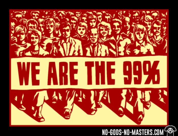 We are the 99% - Activist Long sleeves