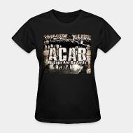 Women's t-shirt ACAB All Cops Are Bastards