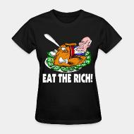 Women's t-shirt Eat the rich!