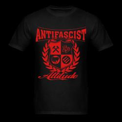 Antifascist attitude Antifa - Anti-racist - Anti-nazi - Anti-fascist - RASH - Red And Anarchist Skinheads