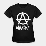 Women T-shirt Anarchy