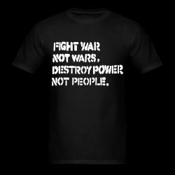 Fight war not wars, destroy power not people. Punk - Crust - Anarcho-punk - Crass - Conflict - Punkrock - Oi! - If the kids are united