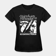 Women's t-shirt Phobia - Scientific fraud