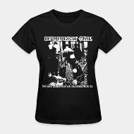 Women's t-shirt Desobediencia Civil - no hay libertad sin desobediencia