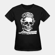 Women's t-shirt God save the Queen