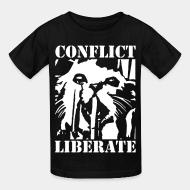 Kid's t-shirt Conflict - liberate