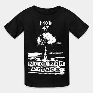 Kid tshirt Mob 47 - nuclear attack