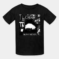 Kid tshirt Cress - Monuments