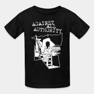 Kid tshirt Against All Authority