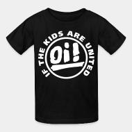 Kid's t-shirt Oi! if the kids are united