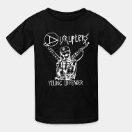 Kid's t-shirt Disrupters - Young offender