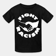 Kid's t-shirt Fight racism