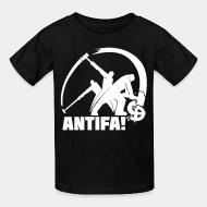 Kid's t-shirt Antifa!