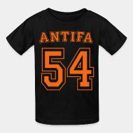 Kid's t-shirt Antifa 54