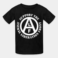 Kid's t-shirt Support the Animal Liberation Front (ALF)