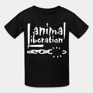 Kid's t-shirt Animal liberation