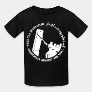 Kid tshirt Anarchist against the wall