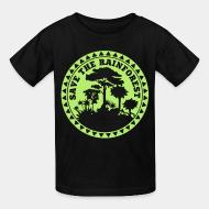 Kid's t-shirt Save the rainforest