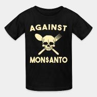 Kid's t-shirt Against Mosanto