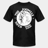 Local product The animals need you