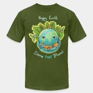 Local product Happy earth save your planet