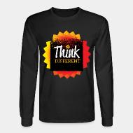 Long-sleeves crewneck Think different