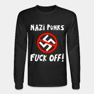 Long-sleeves crewneck Nazi punks fuck off!