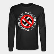 Long-sleeves crewneck Fuck fascism
