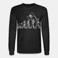 Long-sleeves crewneck Anarchist evolution