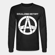Long-sleeves crewneck Gauze - Equalizing distort