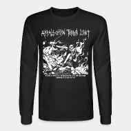 Long-sleeves crewneck Appalachian Terror Unit - We will continue to break the law and destroy property until we win