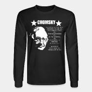 Long sleeves Chomsky - Anarchism means peace and tranquility to all