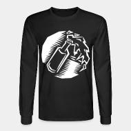Long-sleeves crewneck Molotov Cocktail