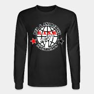 Long-sleeves crewneck R.A.S.H. Red & Anarchist Skinheads