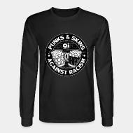 Long-sleeves crewneck Punks & Skins against racism - Oi!