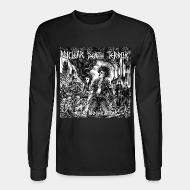 Long-sleeves crewneck Nuclear Death Terror -total annihilation
