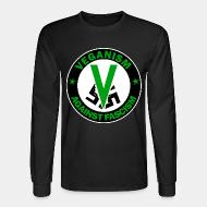 Long-sleeves crewneck Veganism against fascism