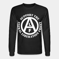 Long-sleeves crewneck Support the Animal Liberation Front (ALF)